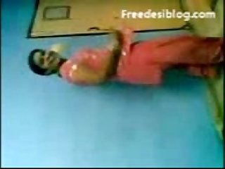 Horny telugu lady dancing and boobs fondled