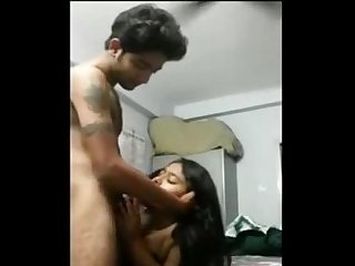 Desi North Indian gf and bf sex