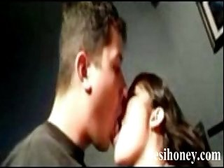 Young Indian couple enjoy their homemaed sex www.desihoney.com