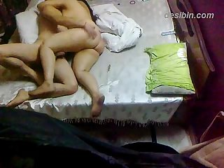 Chubby Indian couple amateur home made sex clip!